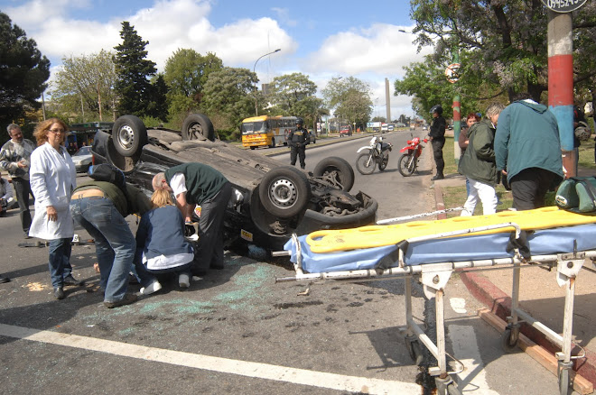 OTRO ACCIDENTE MAS Y VAN.......