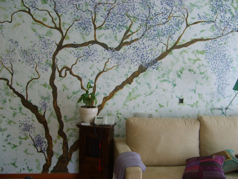 Pin decoracion de paredes con murales infantiles pintados - Murales pintados a mano ...