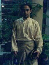 Selepas persembahan nasyid di Dewan Tunku Cancelor Universiti Malaya