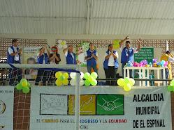 Los Cogestores Sociales participaron en la actividad.