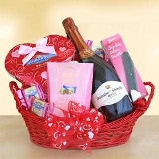 Valentine Gift Basket Pictures