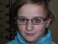 23/01/2009 Florentina con i nuovi occhiali
