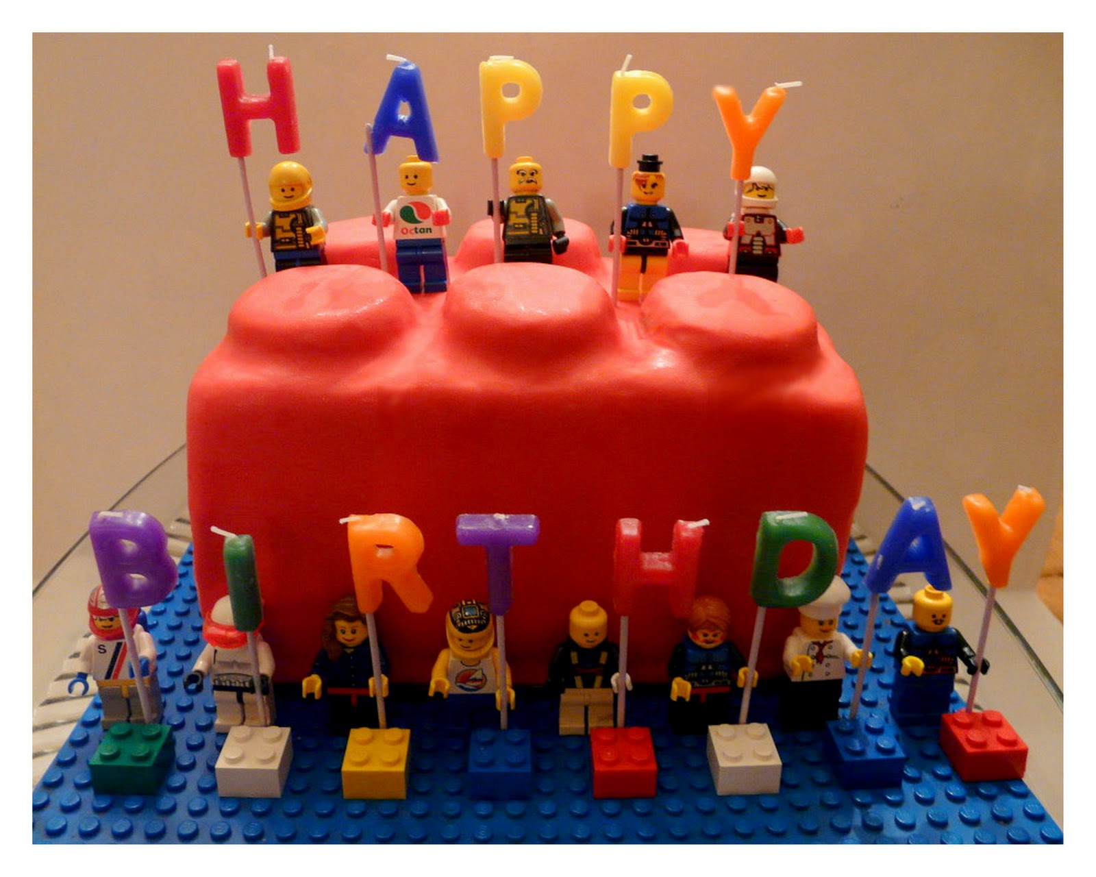 Lego Themed Cake Design : *Jennuine by Rook No. 17*: Inspiring Projects with Flowers ...
