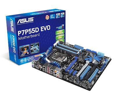 ASUS P7P55D EVO