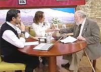 Felipe Camiroaga, Katherine Salosny y Hugo Zepeda Coll