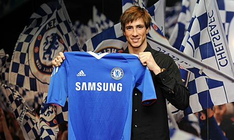 well, how does he look if wearing this CHELSEA shirt ?