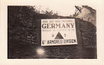 German border 1945