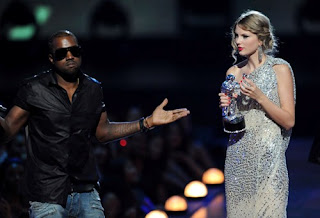 Taylor Swift Kanye West Song on How Old Is Kanye West  Taylor Swift Vmas Still An Innocent New Song