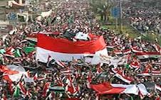 IRAK: Multitudinaria protesta rechazan a invasores estadounidenses