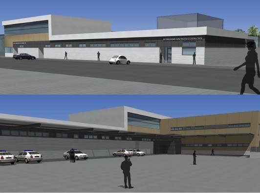 Fachadas arquitect nicas servicios de emergencia y seguridad - Fachada hormigon in situ ...
