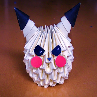 Handmade Cute Crafts 3D Pikachu