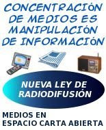 SUMATE A LOS QUE ACOMPAÑAN EL PROYECTO DE LEY DE MEDIOS AUDIOVISUALES AL CONGRESO