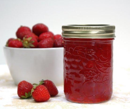 Radishes and Rhubarb: Strawberry Jam