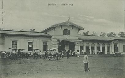 Stasiun Bandung Tempo Dulu Stasiun Bandung Tempo Dulu