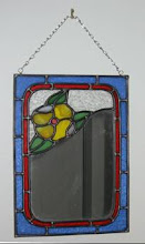 Rose Mirror ( small and unframed)
