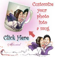 Personalized your photo collage into a mug!