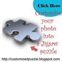 Personalized your photo  into a puzzle!