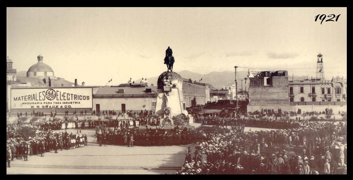 FOTO - Año 1921 - 2010 - Plaza San Martin