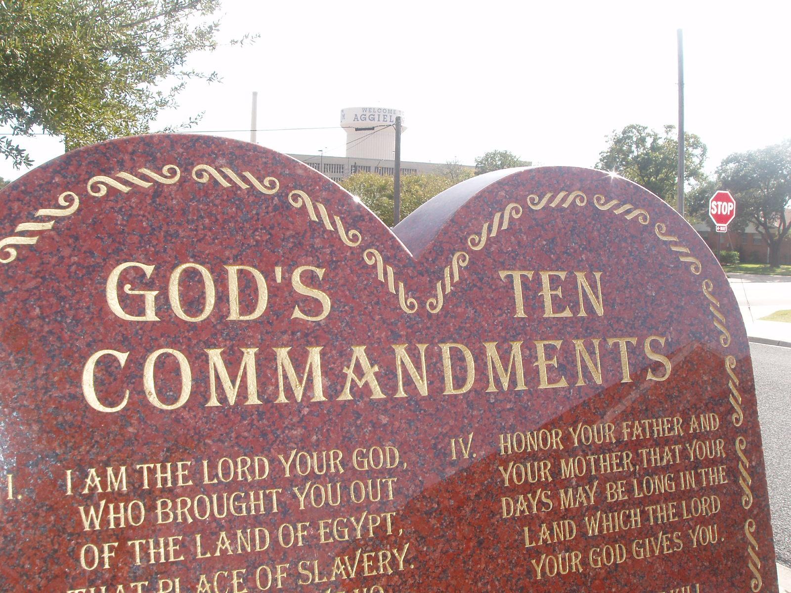 Catholic Ten Commandments Printable For Kids 10 commandments of ...