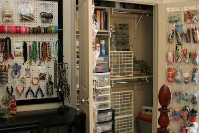 Craft Room Ideas on Craft Addict   More Craft Room Organization Ideas
