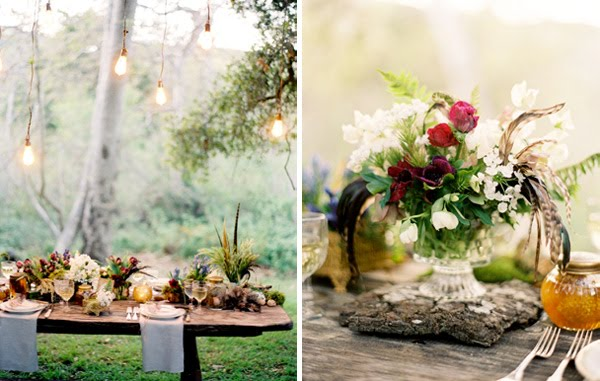 heart wedding centerpiece ideas