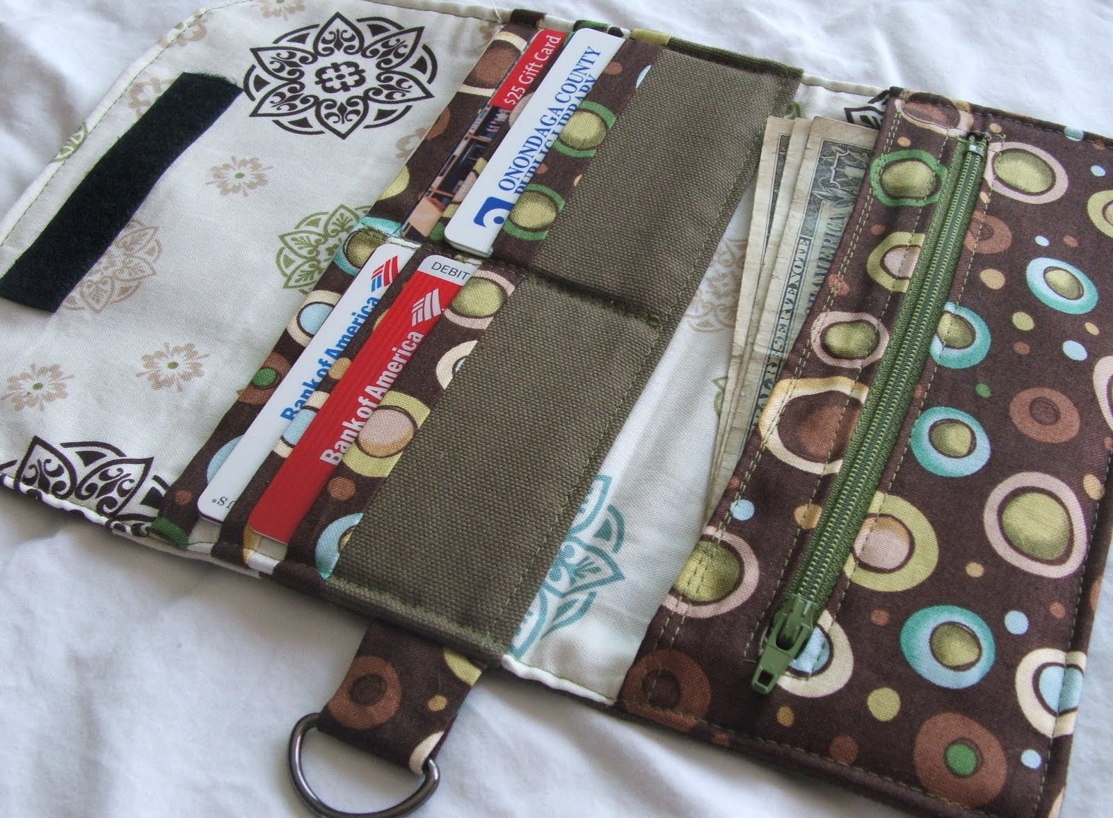 Cloth wallets for women