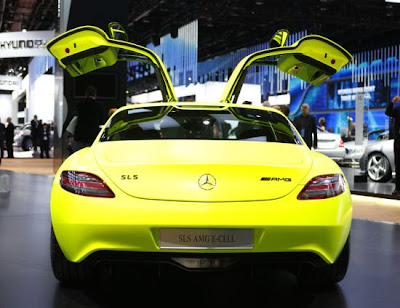 Eco Cars - Mercedes-Benz SLS AMG E-Cell