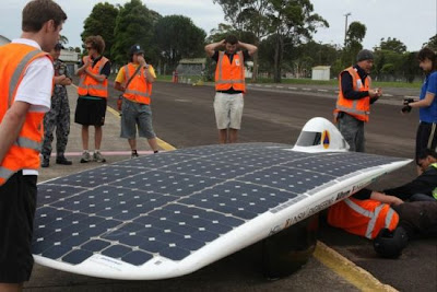 sunswift ivy solar powered car