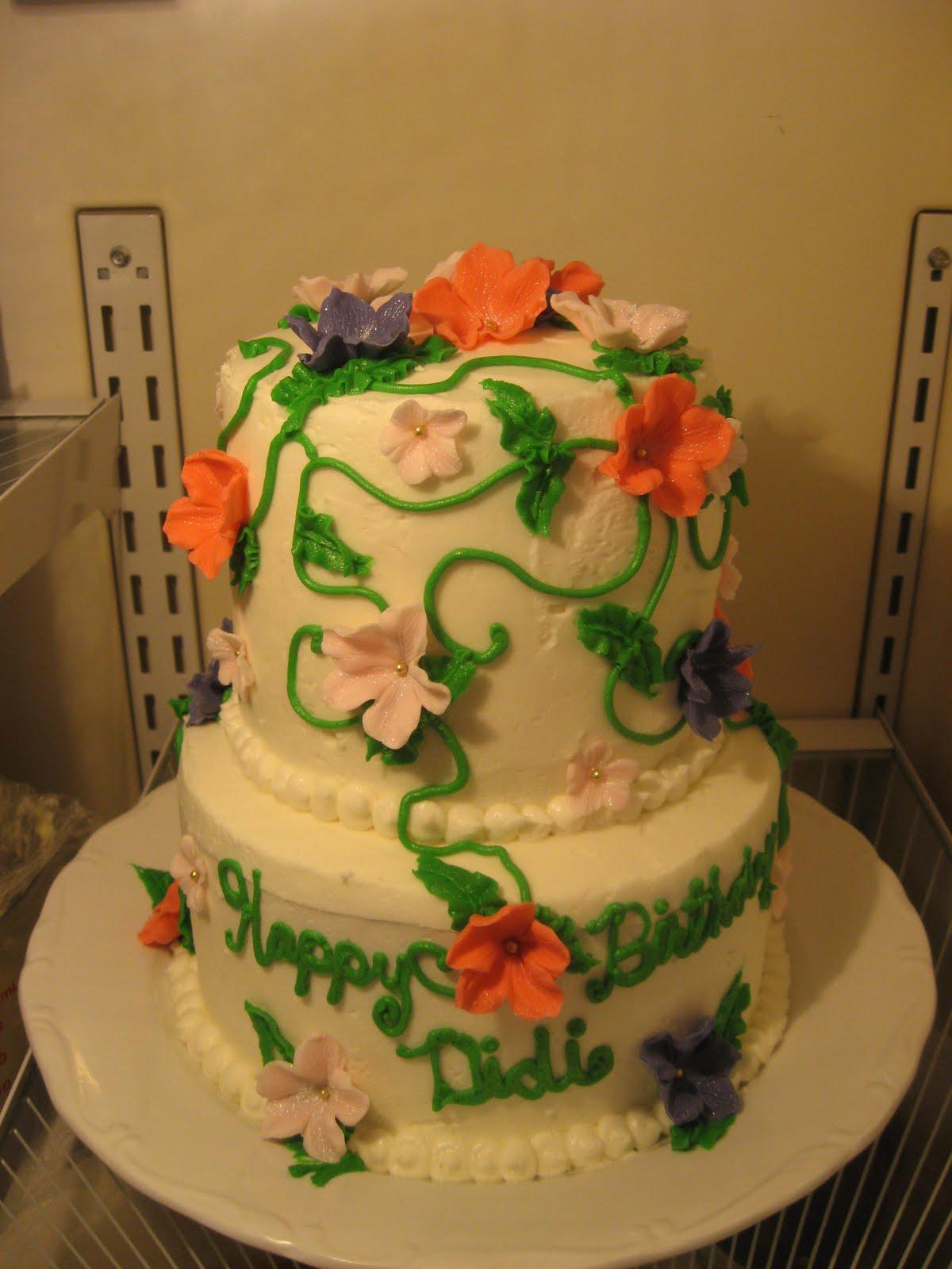 Sweetest Endeavors Birthday Cake