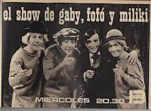 El Show de Gaby, Fofó y Miliki.