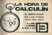 La hora de Calculín.