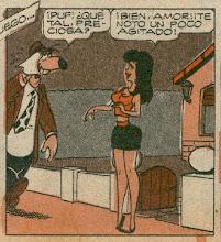 la novia de larguirucho...