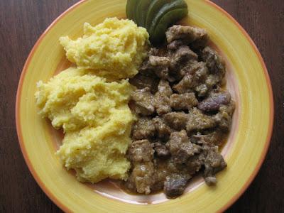 Articole culinare : Tocana de porc cu ceapa
