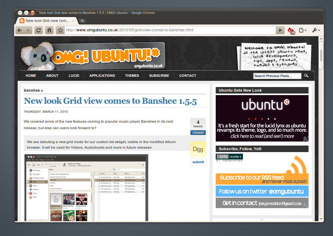 Apparence des boutons de chromium autres environnements for Ubuntu decoration fenetre