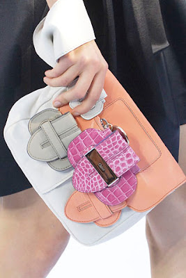 Bolsa de couro branca