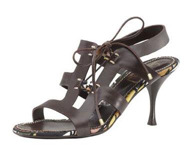 Sandalias da moda 2009