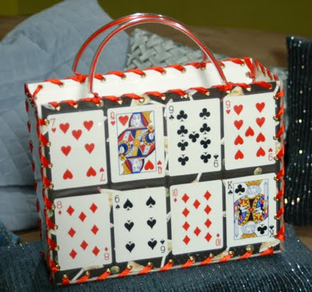 Cathie Filian Make This Playing Card Purse
