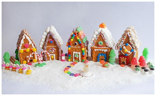 Image result for graham cracker gingerbread houses