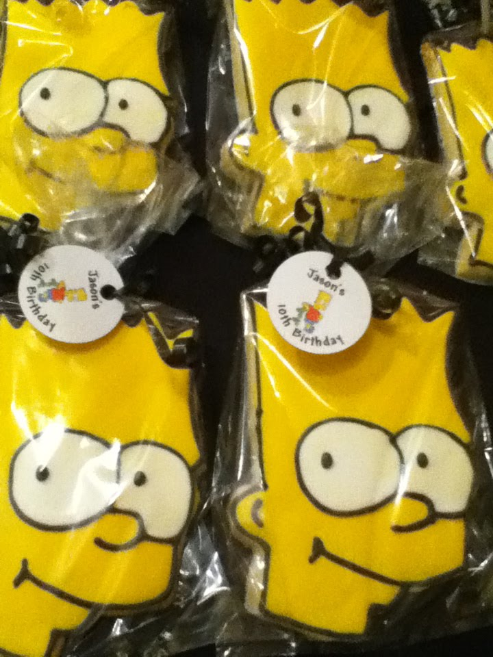 Bart Simpson. Posted by cookiesBYsandra. Email ThisBlogThis!