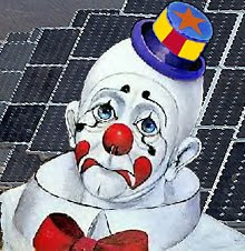 Sad Arizona Solar Clown