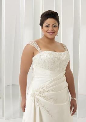 Платья свадебные для полных невест