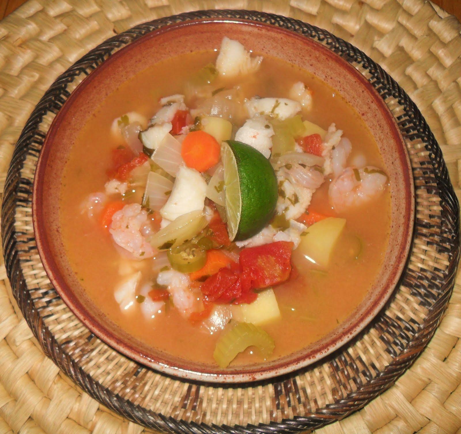 Mexican menu 240 otra sopa de pescado 113 for Mexican fish soup recipe