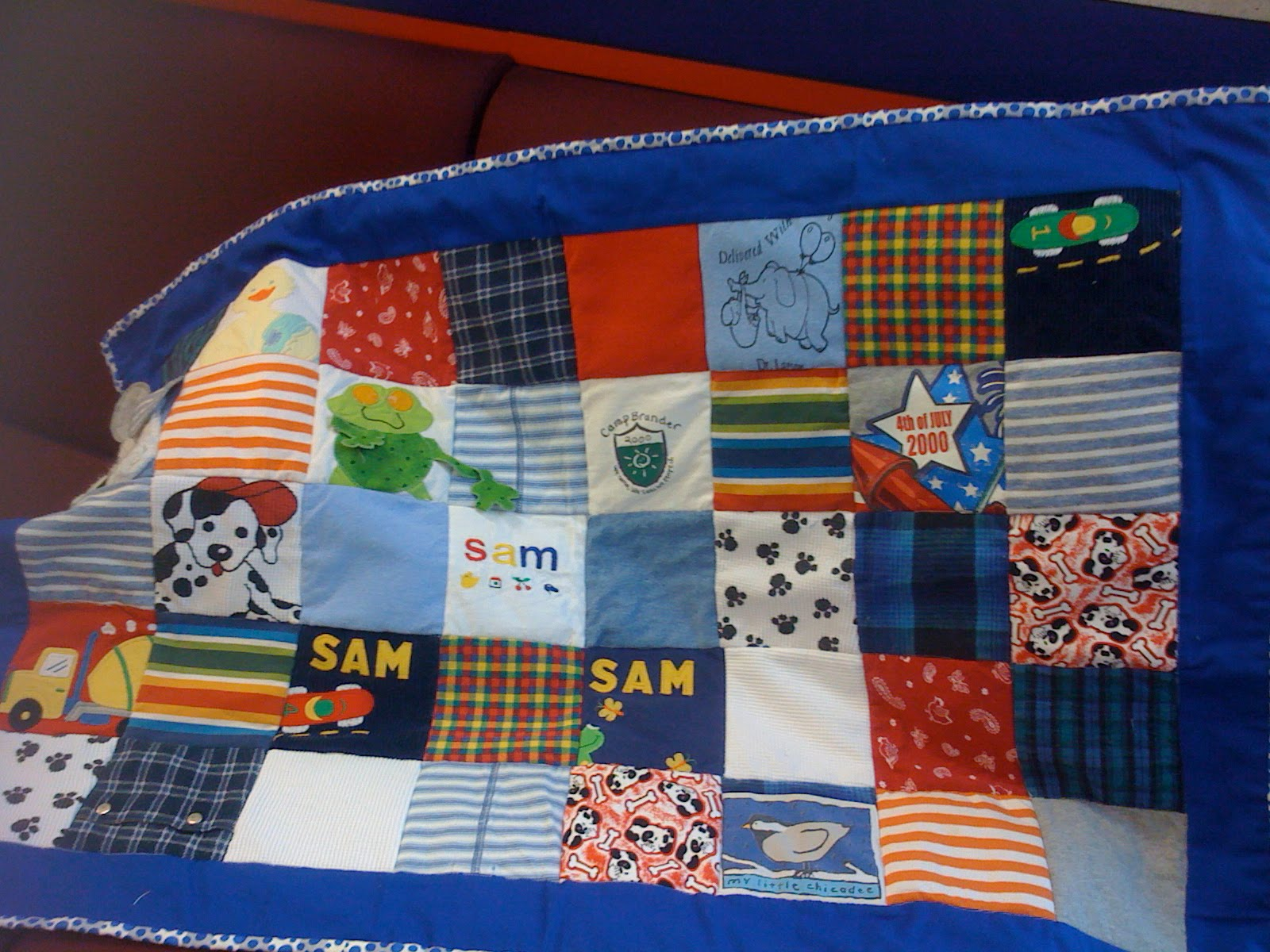Sew Sarah Baby Clothes Quilt Along