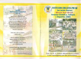 REVISTA DE PASATIEMPO PRIMERA EDICIÓN 2008