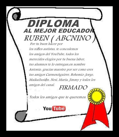 DIPLOMA PARA RUBEN /ABCNINO)