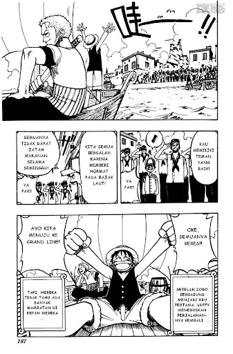 Baca Manga, Baca Komik, One Piece Chapter 7, One Piece 7 Bahasa Indonesia, One Piece 7 Online