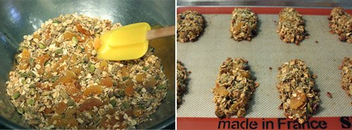 lisa is cooking: Quinoa, Apricot, and Nut Clusters