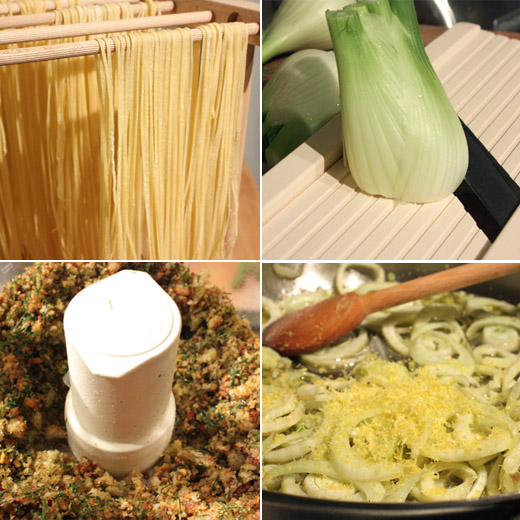 lisa is cooking: Spaghetti with Fennel, Chile, Lemon, and Breadcrumbs