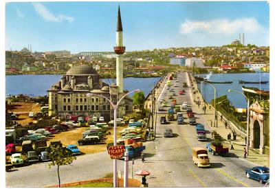 eski istanbul - atatürk köprüsü