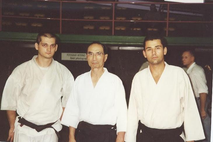 Roma 2000 – cu Tada Hiroshi sensei și Mitu sensei